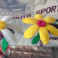 Мастер-класс «Цветок из бросового материала!»