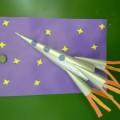 Поделка «Ракета»