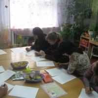 Фотоотчет о родительском собрании «Осенние фантазии»