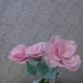 Мастер-класс для воспитателей «Изготовление розы для сюжетно-ролевой игры «Цветочный магазин»