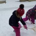 Снежные постройки. Фотоотчет, как мы оформляли участок детского сада своими руками
