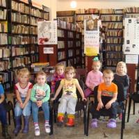 План работы с библиотекой (старшая группа)