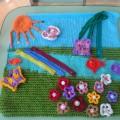 Развивающий коврик для детей второй группы раннего возраста