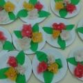 Мастер-класс «Цветы для мамы» (старшая группа)