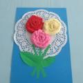 Мастер-класс «Розы для мамочки»