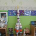 Фотоотчёт о творческой выставке «Космос— это интересно»