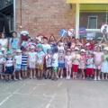 Фотоотчет о совместном мероприятии детского сада и школы «Правила дорожные всем знать положено!»