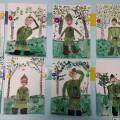 Рисунок ребенка старшей группы на тему «День защитника Отечества»