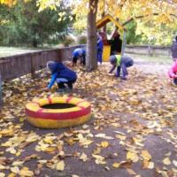 Фотоотчёт о проделанной работе с детьми «Осенние фантазии»
