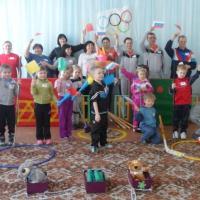 Спортивный праздник «Белая Олимпиада-2014» в детском саду
