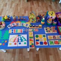 Сенсорное развитие детей младшего дошкольного возраста средствами дидактических игр