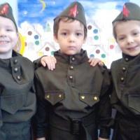 Фотоотчёт о месячнике по патриотическому воспитанию