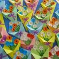 Мастер-класс к 8 Марта с детьми 3–4 лет «Букет цветов»