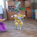 Фотоотчёт на тему: «Народная кукла как неисчерпаемый ресурс воспитания».
