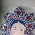 Портрет Зимы. Мастер-класс аппликации в технике мозаика для детей 5–7 лет