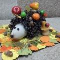 Мастер-класс «Осенний ежик» в уголок природы