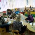 Мастер-класс с родителями и коллегами «Зимняя сказка» в нашей группе