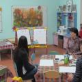 Мастер-класс для родителей по нетрадиционным техникам рисования с участием детей старшей группы. Рисование ежа