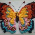«Нарядная бабочка». Мастер-класс по изготовлению поделки из салфеток с детьми 3–4 лет