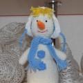 Вяжем снеговика своими руками