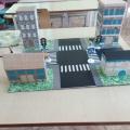 Макет для изучения правил дорожного движения в средней группе детского сада «Перекрёсток»