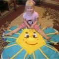 Развивающий коврик для детей 2–5 лет своими руками