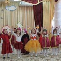 Фотоотчет о празднике «Осень золотая» в средней группе