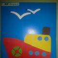 «Корабль для папы». Мастер-класс по изготовлению открытки к 23 февраля