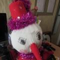 Поделка «Веселый снеговик»
