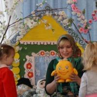 Конспект интегративного занятия во второй группе раннего возраста «Путешествие по сказке «Колобок»