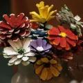 Мастер-класс по изготовлению цветов из природного материала