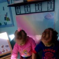 Фотоотчет «Игры с песком, как средство развития речи детей»