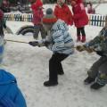 Спортивное развлечение «Проводы русской зимы» старшая и подготовительная группа