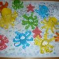 Мастер-класс «Коллективная работа «Весёлые осьминожки»