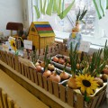 Мини-огород на окошке «Дача в Простоквашино»