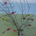 Мастер-класс «Сидят на ветках птички— снегири и синички» для детей старшей и подготовительной группы
