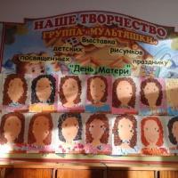 Фотоотчет «Выставка детских рисунков, посвященных празднику «День Матери!»