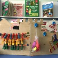 Бизиборд, или развивающая доска для детей