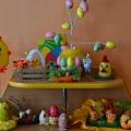 Фотоотчёт о выставке совместного пасхального творчества детей и родителей