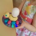 Мастер-класс поделки из соленого теста «Пасхальный цыпленок. Подставка для пасхального яйца»
