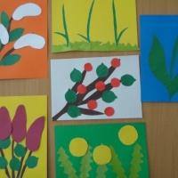 Фотоотчет «Аппликация «Весенние цветы»