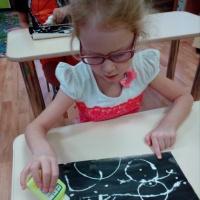 Использование нетрадиционной техники рисования сольюв работе с дошкольниками, имеющими нарушения зрения