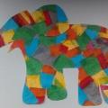 Занятие по аппликации на тему «Слон»