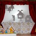 Театр теней в детском саду «Развитие». Русская народная сказка «Гуси-лебеди».