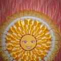 Мастер-класс поделки из пластиковых вилок «Солнышко лучистое»