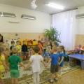 Совместная образовательная деятельность «Жираф». Средняя группа (нетрадиционные техники рисования)
