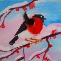 Детский мастер-класс «Рисование зимующих птиц»