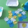 Дидактическая игра «Цветочная полянка» (для детей младшей группы).