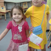 Детский мастер-класс «Сумочка из бумаги»