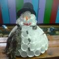 Фотоотчёт. Выставка «Веселый снеговик»